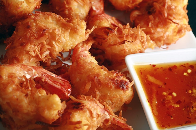 A man at a gluten-free expo told me that of all the things he misses, coconut shrimp was his #1 wish. So, I developed a great recipe for it, along with a spicy orange-ginger dip. Do you have a gluten-free wish?  Message me and I'll see what I can do!