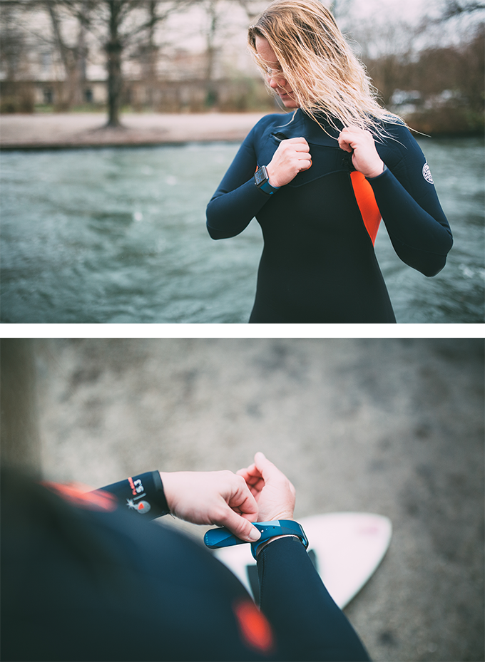 Functionality: Our bands are ergonomically shaped, water-repellent and UV-light resistant
