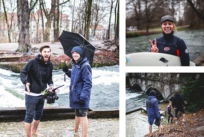 Image video: We resisted wind and weather to shoot our image video