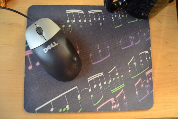 Colormusik mousepad