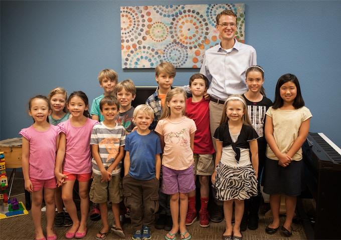 Mr. Hoffman & Students @ Hoffman Academy in Portland, Oregon