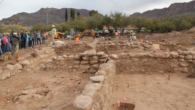 newly discovered prehistoric ruins near Apache Leap