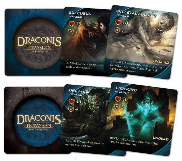 Draconis Invasion: The Dark Fantasy Deck-Building Game by
