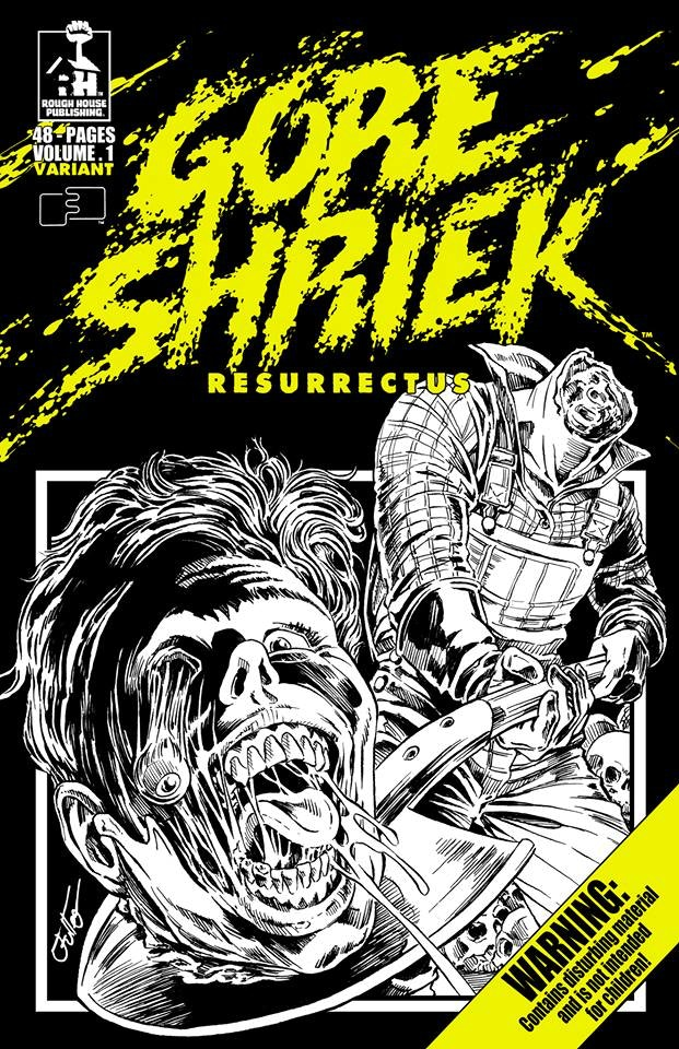 Variant Bruce Spaulding Fuller cover for Volume 1