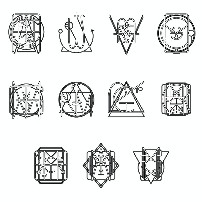Positive Affirmations With Personalized Magic Sigils by SA