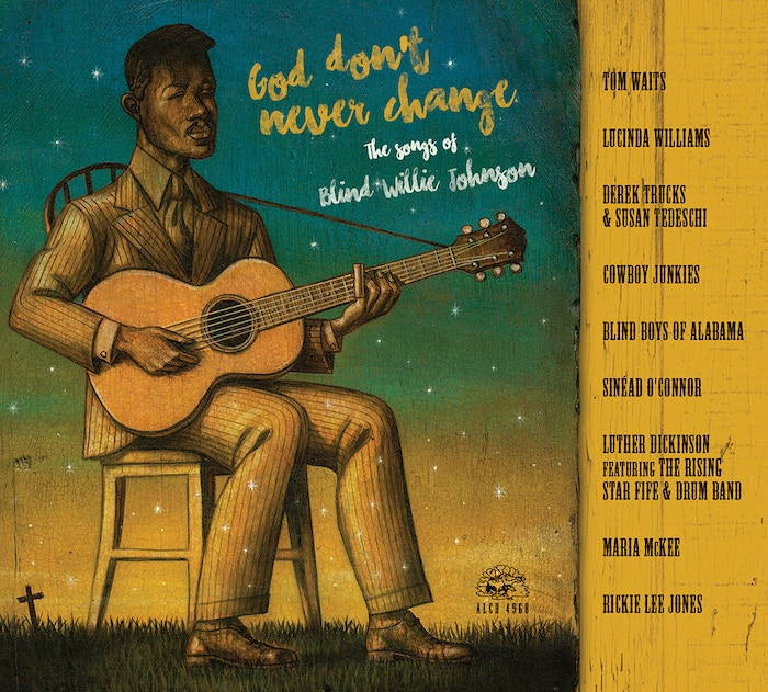 A stunning collection of artists and performances celebrate the timeless music of legendary gospel bluesman Blind Willie Johnson.