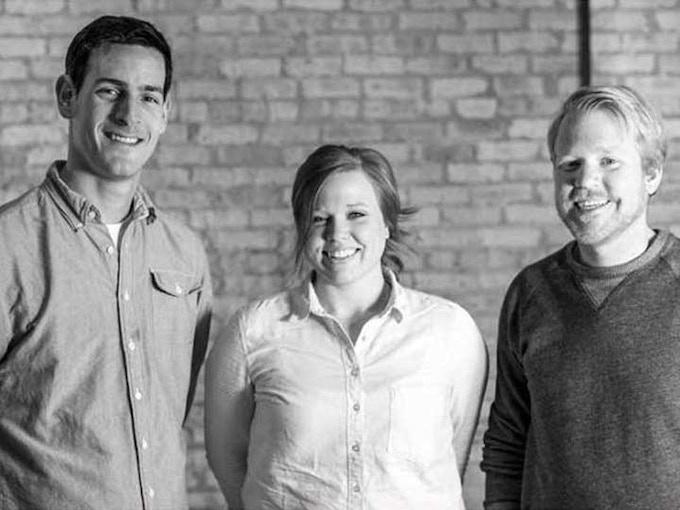 The production team (L-R: Mike Eisenberg, Kailey Eisenberg, Matt Downe)