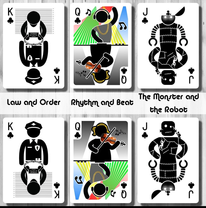 Court Cards - Clubs