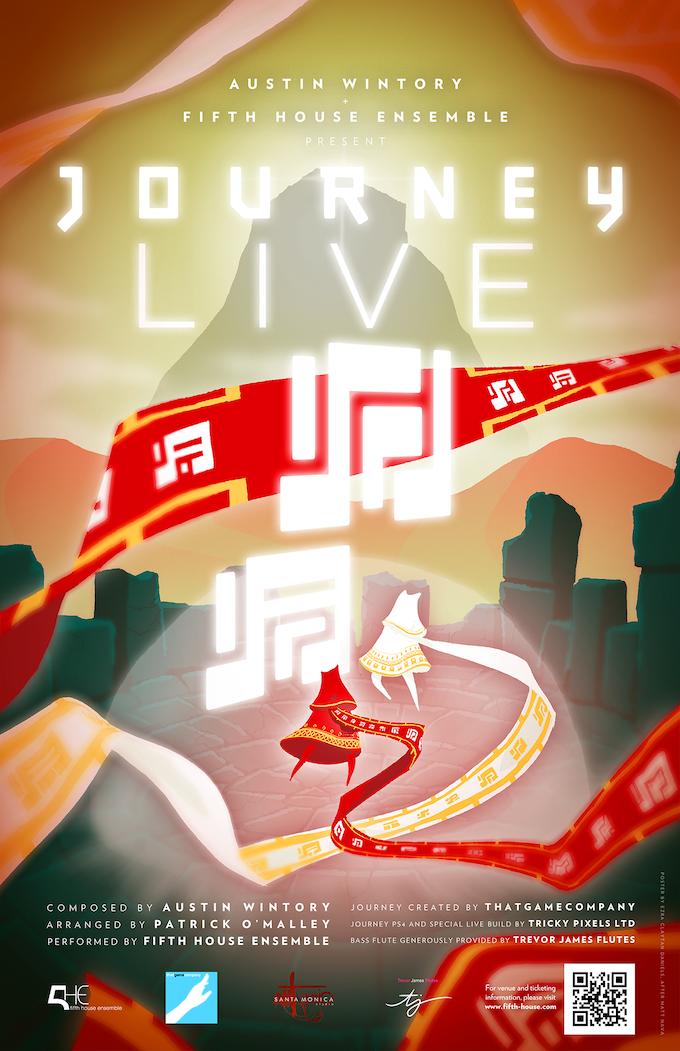 Journey LIVE Poster - design by Ezra Claytan Daniels