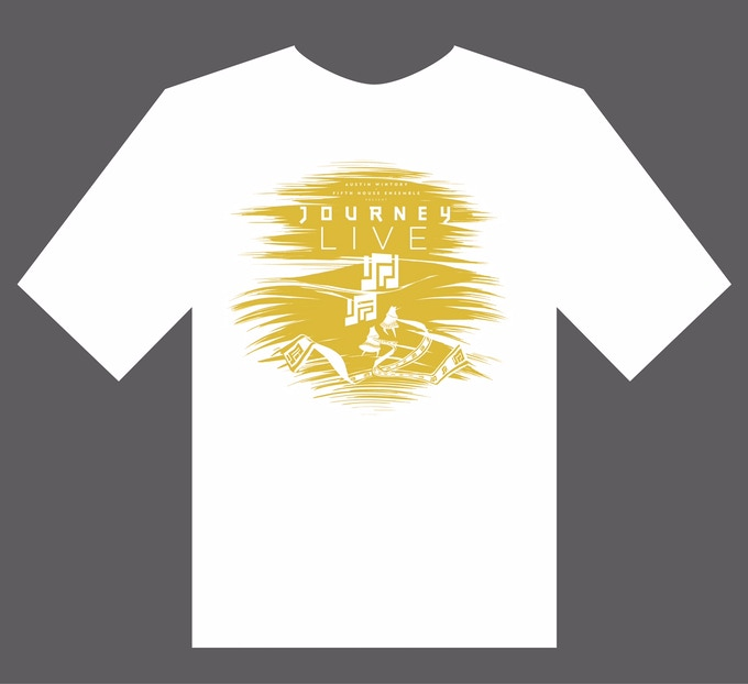 Journey LIVE T-Shirt - design by Ezra Claytan Daniels