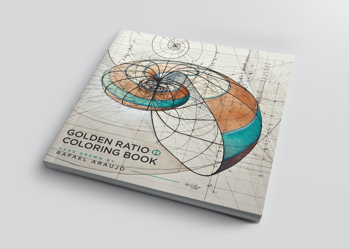 Golden Ratio Coloring Book Front Cover