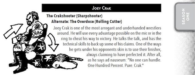 An example of Joining the Roster - Joe Zantek's Joey Crak!