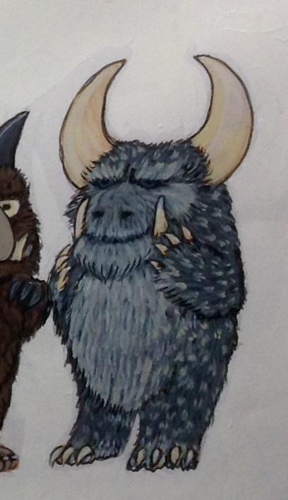 Bullbear Wilybeast, concept, model still work in progress.