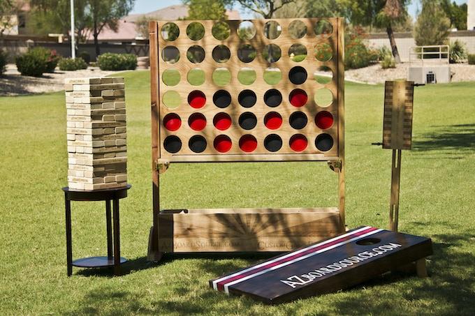 One of Kind Backyard Games!