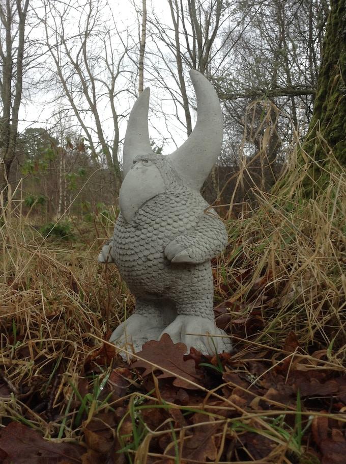 Horn headed Bird Wilybeast! Concrete prototype shown in Woods!