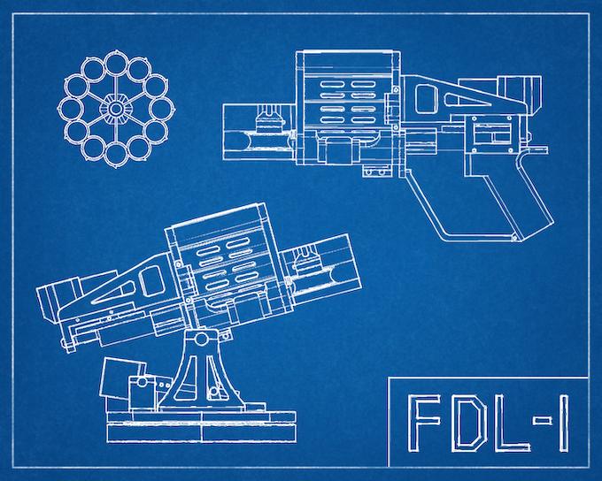 FDL-1: 3D Printed, Robotic, Foam Dart Launcher
