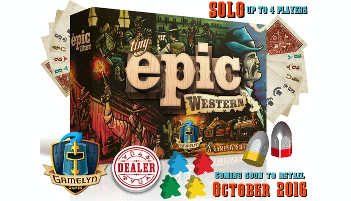 Poker meets worker placement in this artfully crafted 30 minute board game for 1 to 4 players! TINY box, EPIC gameplay, EVERY TIME!