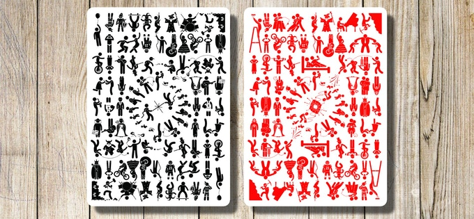 Back Designs (Black and Red editions)