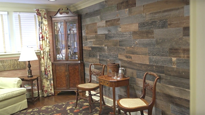 Artis Design Group : Artis wall removable reclaimed wood accent walls by will