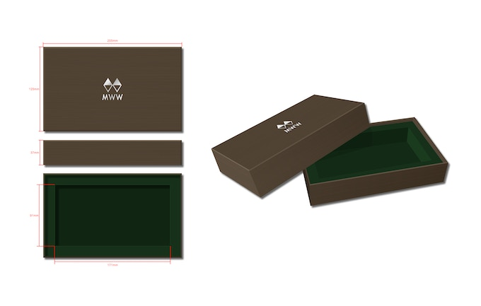 And introducing our new custom eco-friendly box.