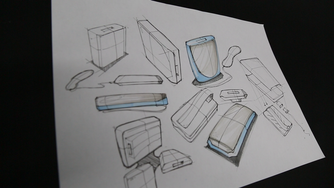 Early prototype sketches