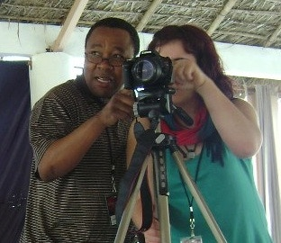 """Legendary South African organizer Mkhuseli """"Khusta"""" Jack learned photography and video skills and also shared his stories from the anti-apartheid struggle."""