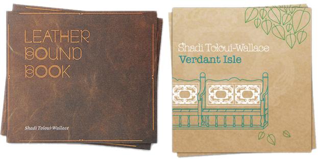 Leather Bound Book (2009) & Verdant Isle (2011)