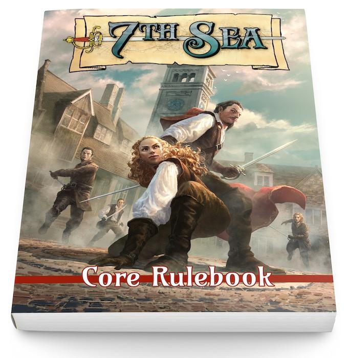 Core Rulebook Mockup