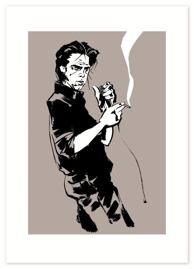 Reinhard Kleist - Nick Cave