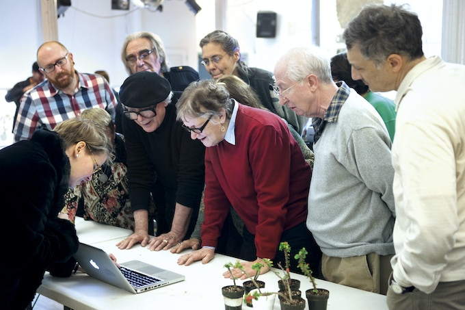 On the lookout for enthusiastic participants we spent a wintery Tuesday in the company of carnivorous plants and the members of New York's Indoor Gardening Society.