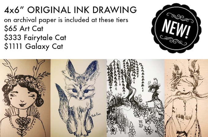 These drawings are just samples. You will receive a new original drawing.