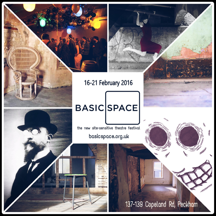 BasicSpace is a brand new site-sensitive theatre festival coming 16th-21st February 2016 to two Victorian safehouses in Peckham.
