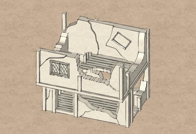 Ruined house 1