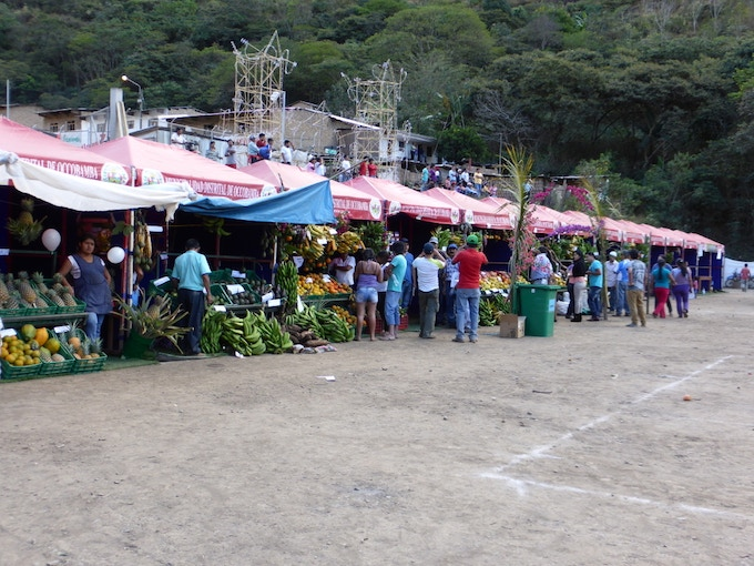 Agricultural Fair in the Valley of Ocobamba.