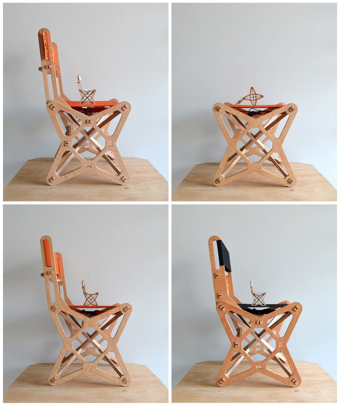 prototypes of Electron chair
