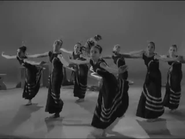A clip from the 1961 film 'Night Journey'
