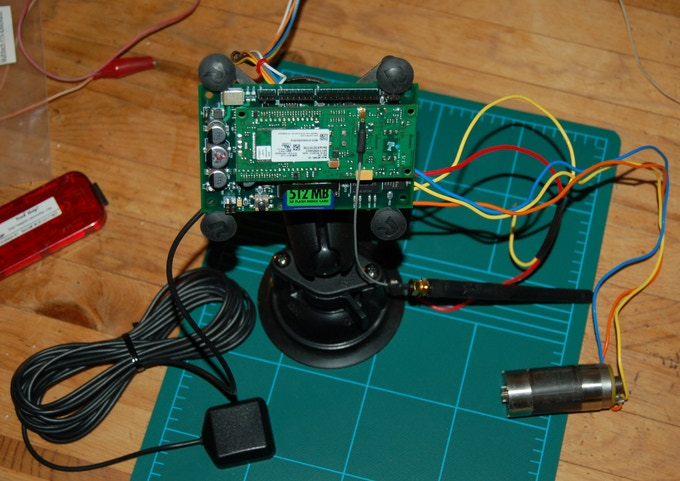 MotorTalk with MultiTech modem