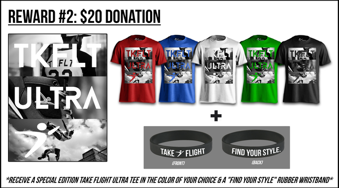 Donate $20 towards our project, and you'll receive this!