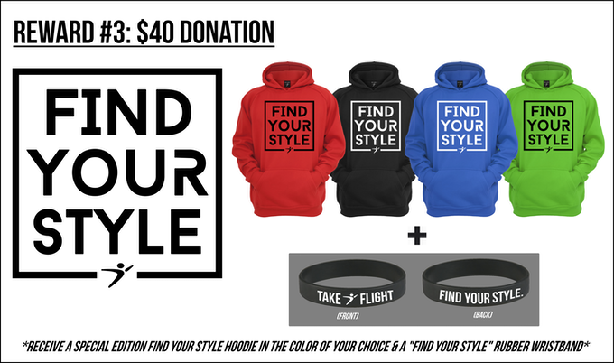 Donate $40 towards our project, and you'll receive this!