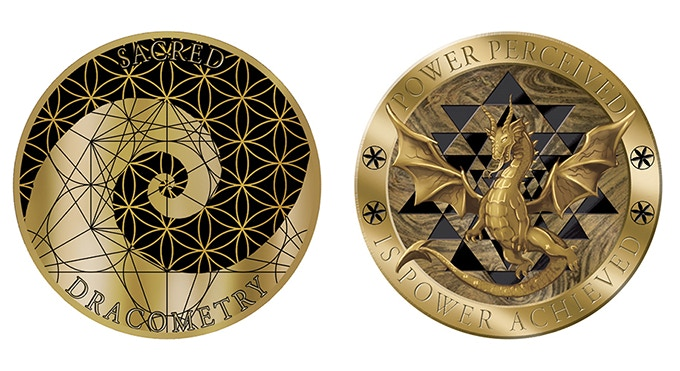 This is a digital rendering, not an actual coin.