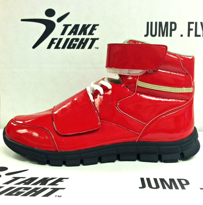 The 1st prototype of our first shoe.