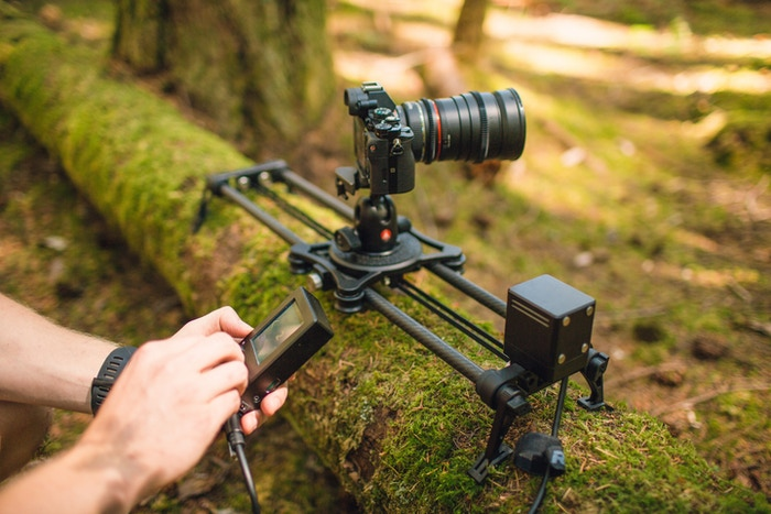 rhino slider evo motorized camera slider by kyle hart