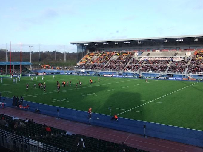 Site of finals broadcast, Allianz Park
