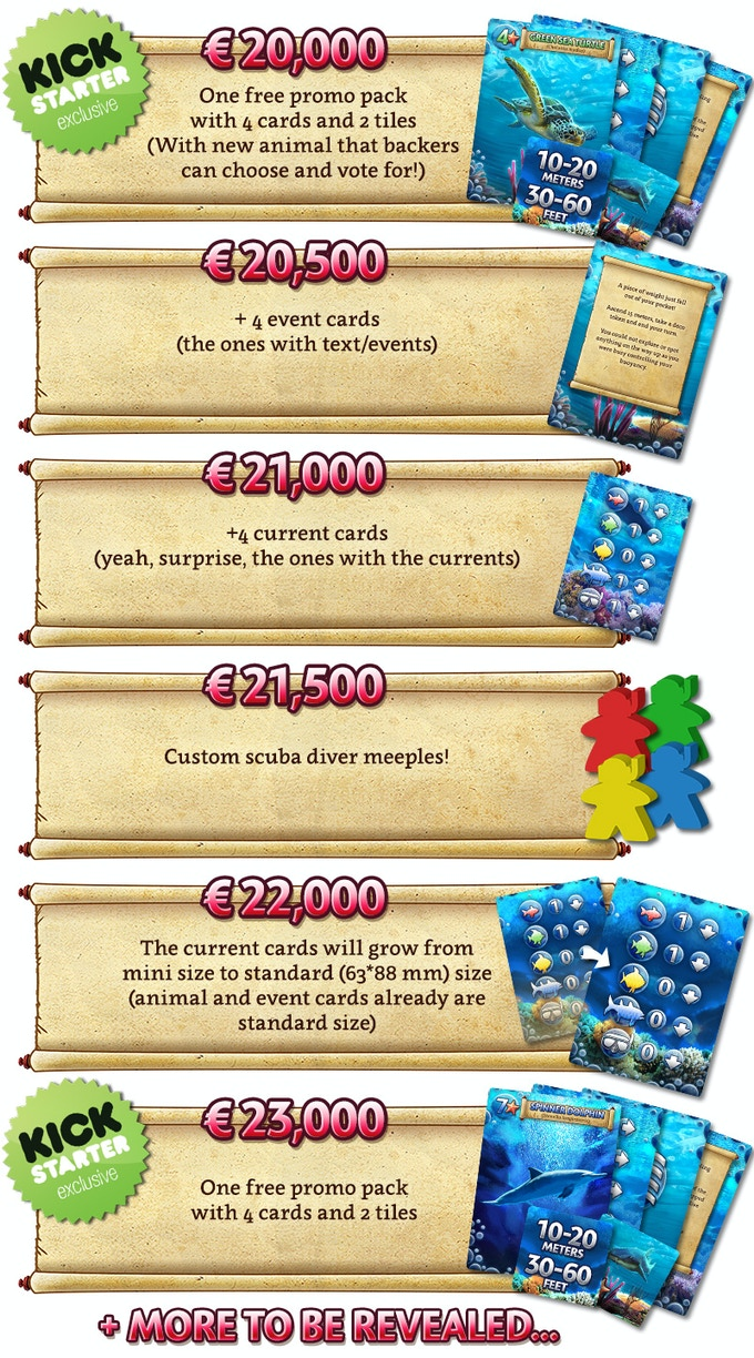 Lowered stretch goals! And more to be revealed.