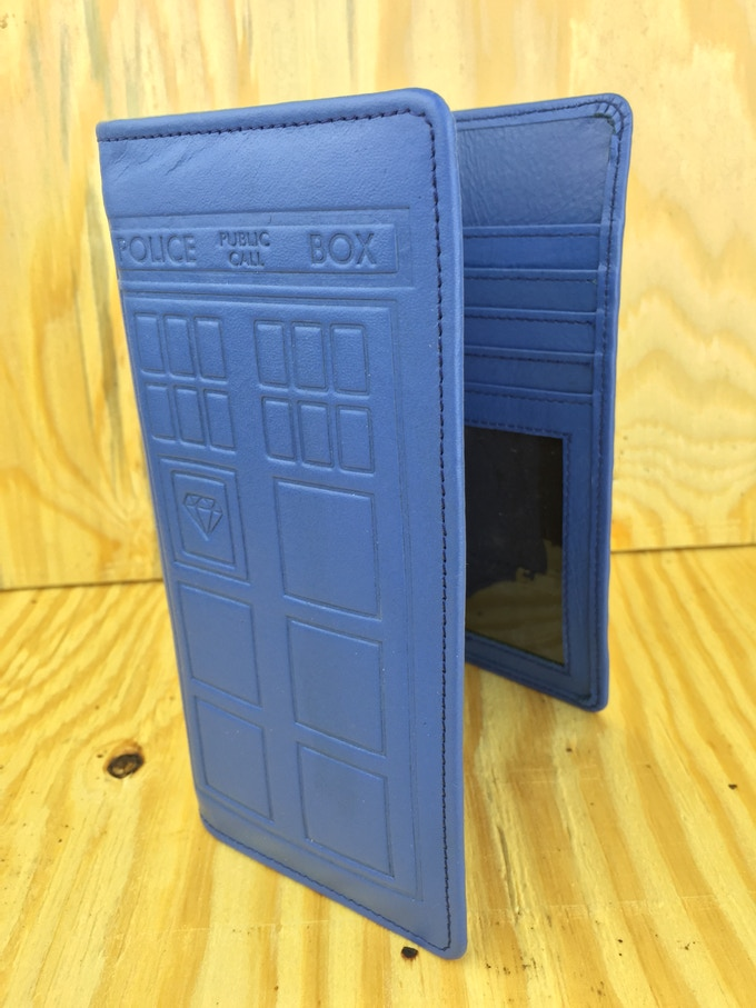 The Ultimate Whovian With Built In Blue Led Lights Amp Rfid