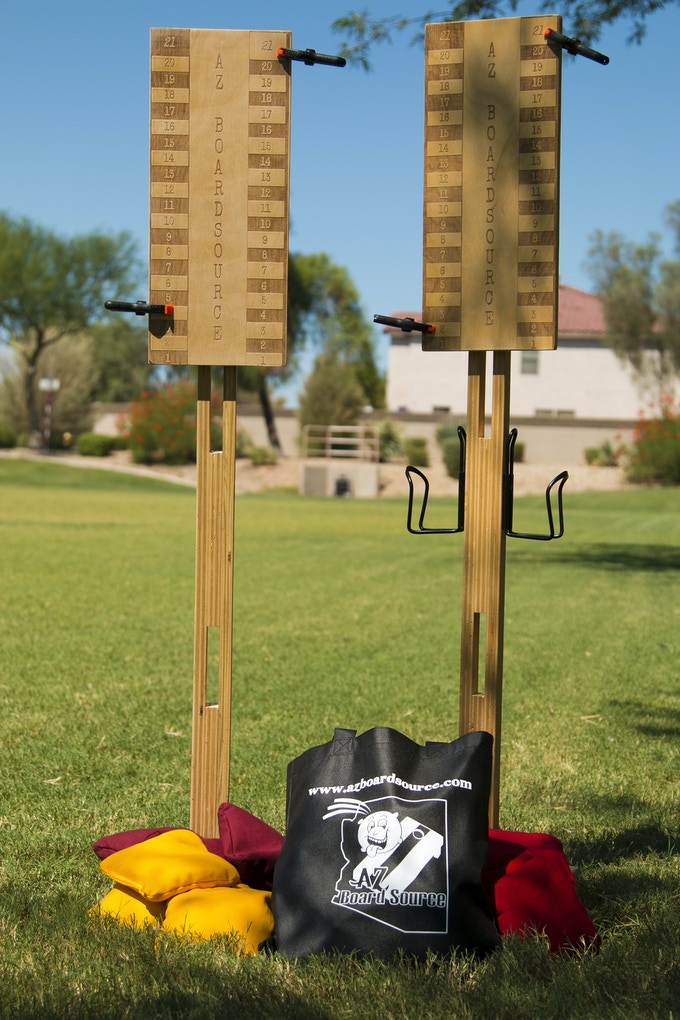 One of Kind Cornhole Game Accessories