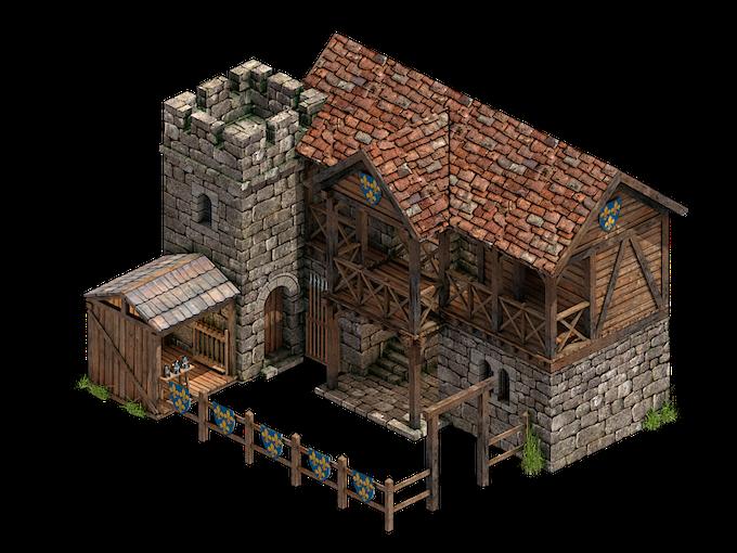 New barracks layout!