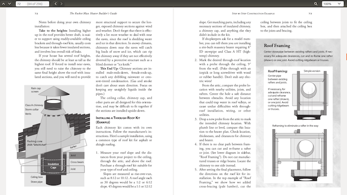 Chapter 4, Step by Step Construction Example, pages 26-27 (uncorrected galley proofs)