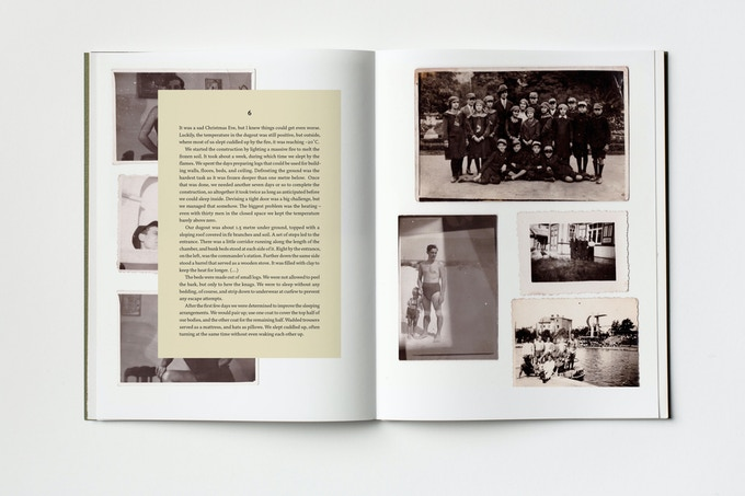 A mock-up of the book. Photography by Vladimir Svetlov