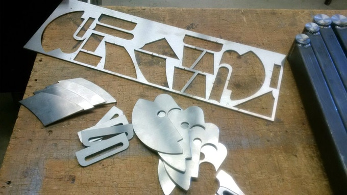 Laser cutting for first three products
